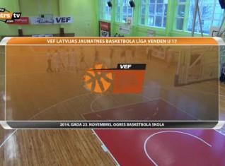 Video: VEF LJBL Venden U17: ''Rīga/DSN'' apspēlē ogrēniešus