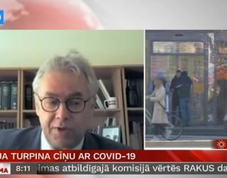 Video: Perevoščikovs par aktualitātēm cīņā ar Covid-19