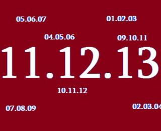 Šodien gadsimta pēdējais kāpjošais datums 11.12.13. Kas noticis Latvijā līdzīgās dienās?