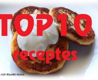 2013. gada populārākās receptes