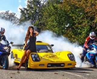"""Superauto """"Ultima GTR"""" – ātrāks pat par Mihaela Šūmahera vadīto """"Ferrari"""""""