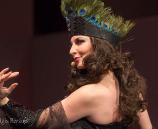 Pirmo reizi Irma Pavāre Tangolitas lomā operetē <i>Balle Savojā</i> (+VIDEO)