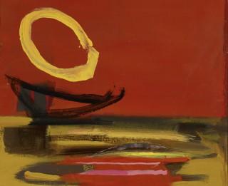 Mākslas stacijā Dubulti Džemmas Skulmes personālizstāde Krāsas garša apskatāma līdz 2. janvārim