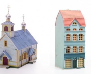 Dzelzceļa muzejā atklās miniatūro ēku meistara Alfrēda Straumes izstādi