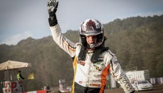Foto: A.Baumanis debijas ''Rallycross Challenge'' sezonā kļūst par vicečempionu