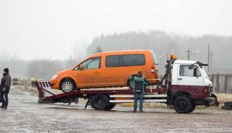 Foto: Sniegs un dubļi EVE autosporta ziemas kausa 3. posmā