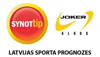 Konkurss: <b>SynotTip</b> un <b>Joker klubs</b> Latvijas sporta prognožu spēle - publicēti pēdējie jautājumi