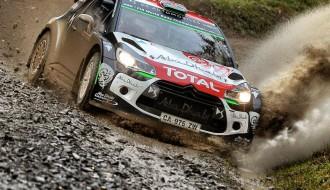 Video: Velsas WRC treniņos ātrākie VW, sportistus sagaida dubļiem bagātīgs rallijs