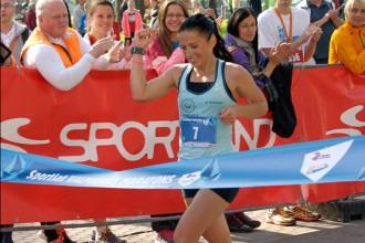 Latvijas čempioni maratonā - R.  Kaimiņš un Liepiņa