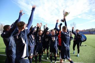 Daugavpils triumfē Latvijas U18 futbola čempionātā