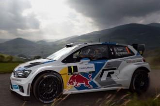 Ožjē vadībā Spānijā un tuvojas otrajam WRC titulam pēc kārtas