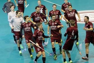 Latvijas izlase Četru nāciju turnīru sāk ar uzvaru pār dāņiem