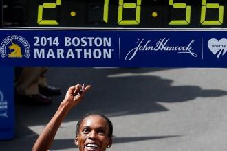 Maratona pasaules līderei pozitīva A prove