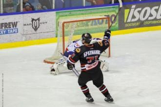 """Brahmanim vārti un uzvara Baltkrievijas """"play-off"""" spēlē"""
