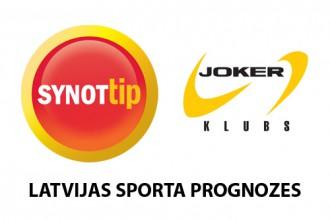 Konkurss: <b>SynotTip</b> un <b>Joker klubs</b> Latvijas sporta prognožu spēle
