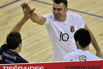 """Latvija pret Igauniju: mērķis – """"Schenker"""" līgas """"Final 4"""""""