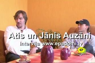 Video: ''Mēs esam vienkārši puiši no Latgales'': intervija ar Ati un Jāni Auzāniem