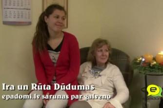 """Video: """"Mēs viena no otras daudz mācāmies..."""":saruna ar  Iru un Rūtu Dūdumām"""
