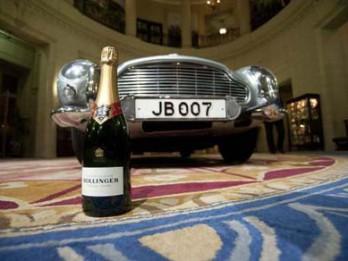 """Video: Džeimsa Bonda šampanietis Rīgā. """"Bollinger"""" degustācijas pasākums"""