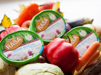 RASA krēmsieru klāstu papildinājis jaunums – krēmsiers ar jogurtu