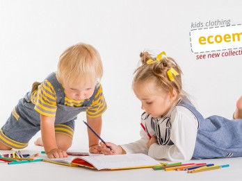 Laimē 25 euro dāvanu kartes ekoloģiska bērnu apģērba iegādei no <i>EcoEmi</i>