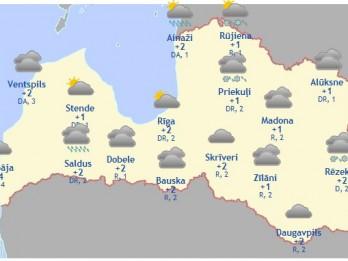 Laika prognoze šodienai - 21. novembrim