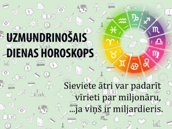 Uzmundrinošie horoskopi 14. janvārim