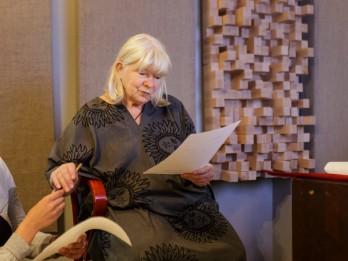 Režisore Roze Stiebra saņēmusi Fredrikstades Animācijas festivāla balvu par mūža ieguldījumu
