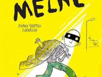 """Izdevniecība """"Pētrgailis"""" ir laidusi klajā norvēģu autora Hokona Ēvreosa grāmatu bērniem """"Melne"""""""