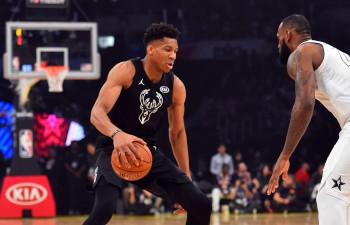 Adetokunbo un Džeimsa komandas tiksies NBA zvaigžņu parādē