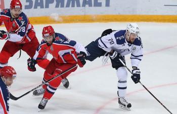 """Indraša """"Dynamo"""" ielaiž izšķirošos vārtus pēdējā minūtē, sērijā pret CSKA 1-3"""