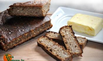 Tortes formā cepta maizīte