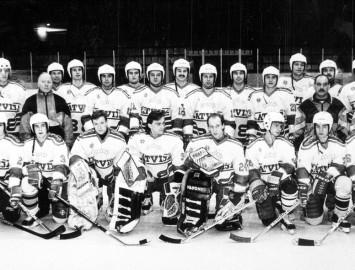 Foto: Latvijas hokeja valstvienība
