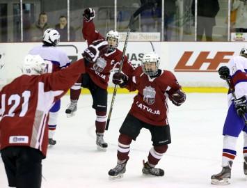 Latvijas U16 izlase uzveic norvēģus un triumfē Četru nāciju turnīrā