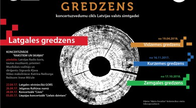 """Ar pirmizrādi Rēzeknē sākas Latvijas Radio kora un diriģenta Sigvarda Kļavas lolotais projekts """"Latvijas gredzens"""""""