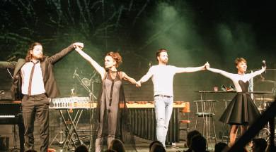 """Latvijas džeza teātra izrāde """"After Midnight""""pārpilda zāli Londonā"""