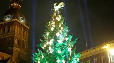 """Otrajā adventē iedzīvotājus aicina apmeklēt koncertus un festivālu """"Ziemassvētku egļu ceļš"""""""