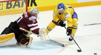Čempionāta sākumā Latvija atņem punktu Zviedrijai