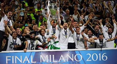 Madrides ''Real'' 11. reizi triumfē Čempionu līgā