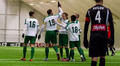 """""""Metta/LU"""" Ziemas kausā pieveic Igaunijas čempioni, RFS zaudējums Kiprā"""