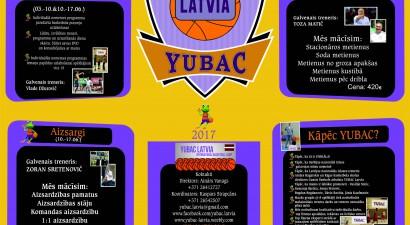 Serbijas Basketbola Nometne Latvijā – YUBAC Latvia
