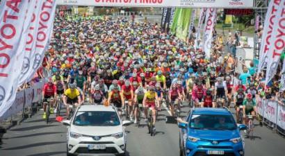 """Jubilejas """"Toyota"""" Rīgas velomaratonā aicināti piedalīties visa vecuma velomīļi"""