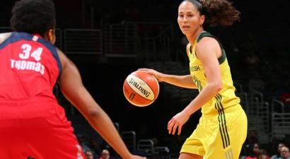 Ģenerālis Nr. 1: Sjū Bērda sasniedz WNBA rekordu piespēlēs