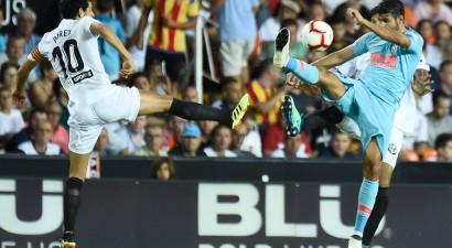 """""""Atletico"""" nenosargā pārsvaru un sāk ar neizšķirtu Valensijā"""