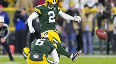 """Mahomess nespēj izglābt """"Chiefs"""", Rodžerss un Krosbijs gan nodrošina """"Packers"""" panākumu"""