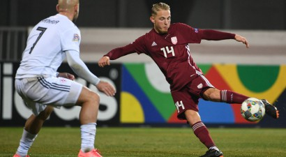 Latvijas izlase gadu FIFA rangā noslēdz 132. vietā