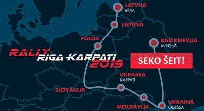 Seko līdzi Rallijam Rīga - Karpati 2019 kartē!