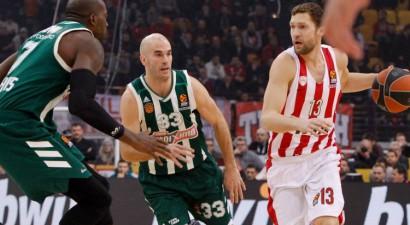 """""""Olympiacos"""" atsakās spēlēt pret """"Panathinaikos"""", tiks izmesta uz Grieķijas otro līgu"""