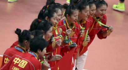Olimpiskā čempione volejbolā pieķerta dopinga lietošanā