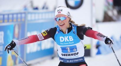 Ekhofa pēdējā šaušanā izrauj Norvēģijai ceturto uzvaru pēc kārtas